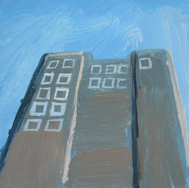 Grey Tower Block